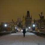 CZECH-WEATHER-SNOW