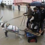 PALESTINIAN-GAZA-WEATHER-FLOODS