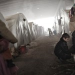 SYRIA-CONFLICT-REFUGEES-WEATHER