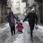 ISRAEL-PALESTINIAN-WEATHER-SNOW