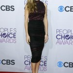 """Tracy Spiridakos of the television series """"Revolution"""", at the 2013 People's Choice Awards in Los Angeles"""