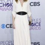 Actress Ellen Pompeo arrives at the 2013 People's Choice Awards in Los Angeles