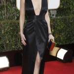 Actress Katharine McPhee arrives at the 70th annual Golden Globe Awards in Beverly Hills