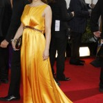 Actress Alyssa Milano arrives at the 70th annual Golden Globe Awards in Beverly Hills