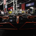The original Batmobile is displayed during the Barrett-Jackson collectors car auction in Scottsdale, Arizona