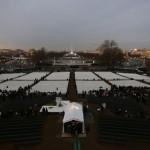 The Washington Mall is pictured at sunrise before the inauguration of U.S. President Barack Obama in Washington