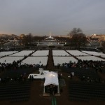 The Washington Mall is pictured at sunrise before the inauguration of U.S. President Barack Obama in Washington