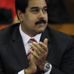 Venezuela's Vice President Nicolas Maduro attends a ceremony to mark the opening of the judicial year at the Supreme Court of Justice (TSJ) in Caracas