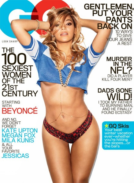 Beyonce for GQ Magazine February 2013 Cover