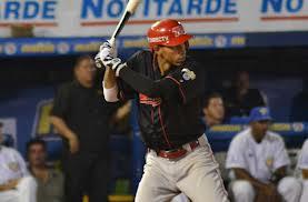 Noriega fue el mejor bateador larense con dos hits, una empujada y una remolcada.