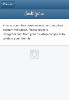 Instagram-bloqueo
