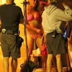 Vanessa Hudgens And Ashley Benson Show Off Their Bikini Bods On Set