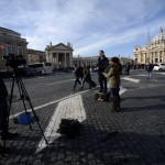VATICAN-POPE-ST PETER'S SQUARE-MEDIA