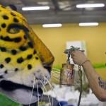 BRAZIL-RIO-CARNIVAL-PREPARATIONS