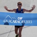 Maraton CAF Caracas 2013