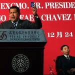 CHINA- PRESIDENTE CHAVEZ