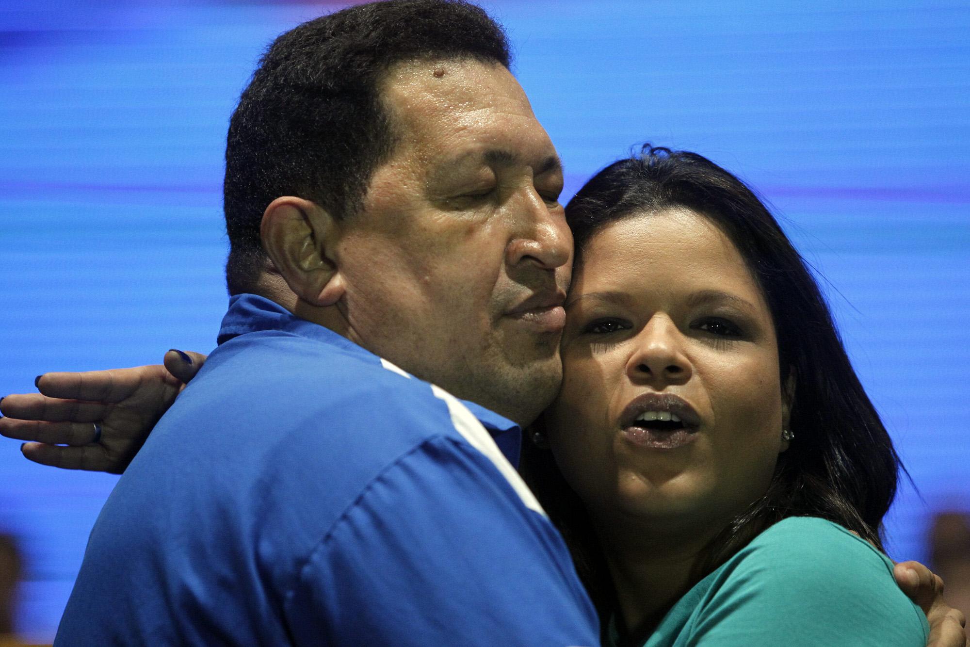 EVENTO DE CAMPA�A DEL PRESIDENTE HUGO CHÁVEZ EN CORO