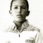 Handout photo of Venezuela's President Chavez during his school years in his hometown of Barinas