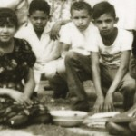Handout photo of Venezuela's President Chavez is pictured with his friends during his school years in his hometown Sabaneta