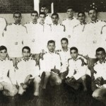 Venezuela's President Hugo Chavez is pictured during his Military Academy years, in this undated handout photo