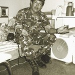 Venezuela's President Hugo Chavez is pictured at his cell during his period at Yare prison