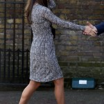 Catherine, Duchess of Cambridge arrives at Hope House in south London
