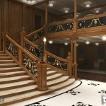 Handout of artist's rendering of the interior of the proposed cruise ship Titanic II in New York