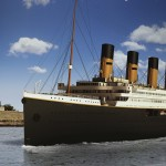 Handout of artist's rendering of proposed cruise ship Titanic II in New York