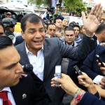 EL PRESIDENTE DE ECUADOR LLAMA A CUIDAR LA TRANSPARENCIA DE LAS ELECCIONES