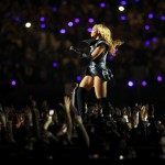 Beyonce performs during the half time show in the NFL Super Bowl XLVII football game in New Orleans