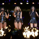 Beyonce and Destiny's Child perform during the half-time show of NFL Super Bowl XLVII football game in New Orleans