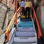 Escalera al cielo en Barrio Union 6