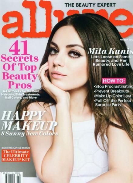 Mila Kunis by Tom Munro for Allure 2013-002