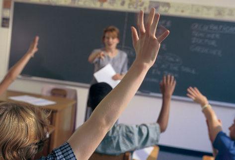 Niños en colegio
