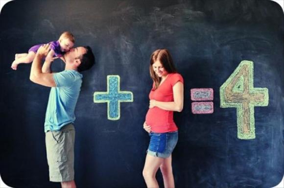 Originales maneras de anunciar que estas embarazada 11
