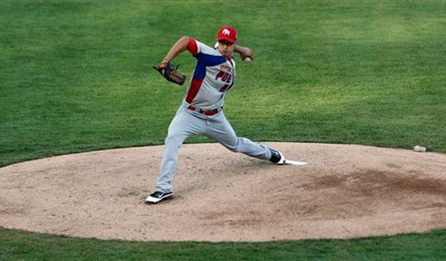 El zurdo Nieves dominó a la toletería venezolana durante cinco entradas para llevarse el triunfo.