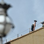 VATICAN-POPE-VOTE-SISTINE-SMOKE-CHIMNEY