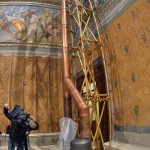 VATICAN-POPE-CONCLAVE-SISTINE CHAPEL-STOVES
