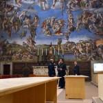 VATICAN-POPE-CONCLAVE-SISTINE CHAPEL