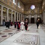 ITALY-VATICAN-POPE-PRAYER-SANTA MARIA MAGGIORE