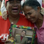VENEZUELA-CHAVEZ-DEATH-SUPPORTERS
