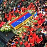 VENEZUELA-CHAVEZ-DEATH-FUNERAL-CORTEGE