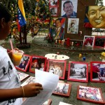 VENEZUELA-CHAVEZ-DEATH-SABANETA