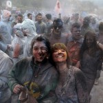 GREECE-TRADITION-FLOUR WAR