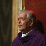 Cardinal Jorge Urosa Savino of Venezuela conducts a Mass in honor of the late Venezuelan President Hugo Chavez in Rome
