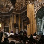 Cardinal Jorge Urosa Savino of Venezuela conducts a Mass in honor of the late President of Venezuela Hugo Chavez in Rome