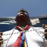 MARCHA DE LA OPOSICIÓN EXIGIENDO CONOCER LA SALUD DEL PRESIDENTE CHÁVEZ