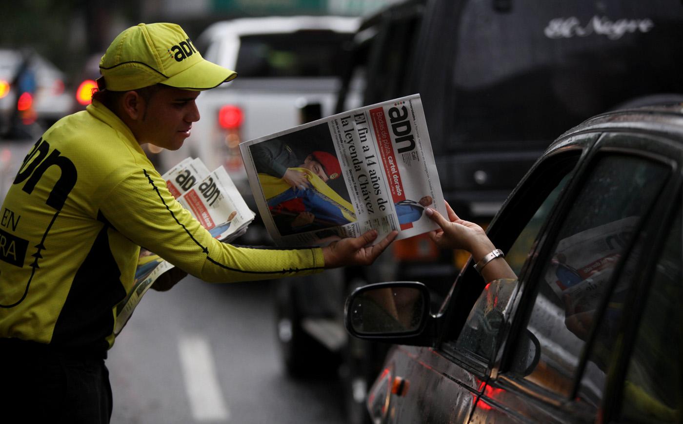 PRENSA COLOMBIANA RESE�A MUERTE DEL PRESIDENTE VENEZOLANO, HUGO CHÁVEZ