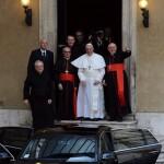 EL PAPA FRANCISCO ACUDE A REZAR A LA BASÍLICA SANTA MARÍA LA MAYOR DE ROMA