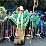 St Patrick's Day Parade in Dublin